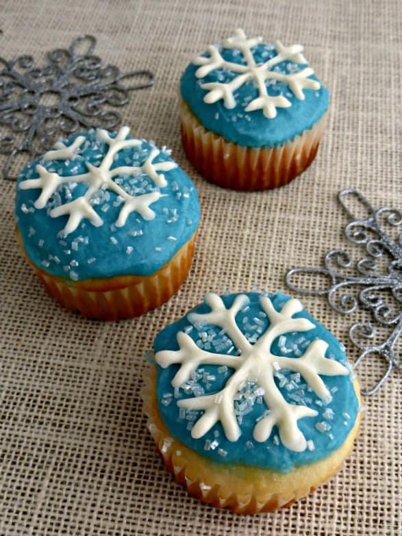 Snowflake-Cupcakes