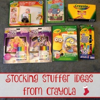 Stocking Stuffer Ideas from Crayola!