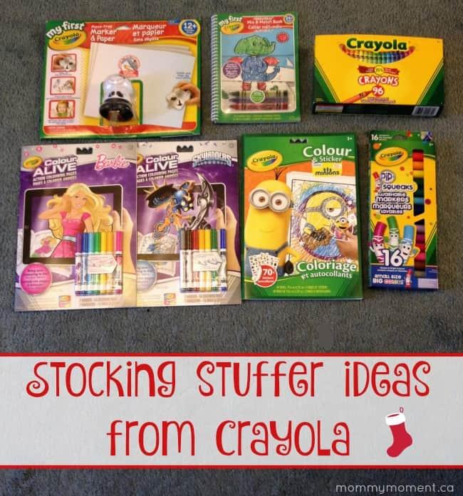 Stocking Stuffers from Crayola