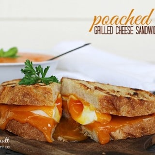 Poached Egg Grilled Cheese Sandwich