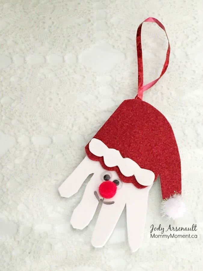 handprint ornament