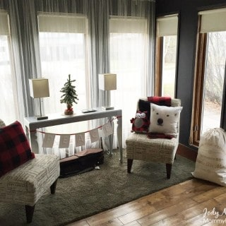 Cozy Plaid and Polar Bear decor for the holidays #ShopForHope #giveaway