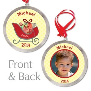 Adorn your tree with personalized ornaments from I SEE ME #31DaysOfGifts #giveaway {CAN}