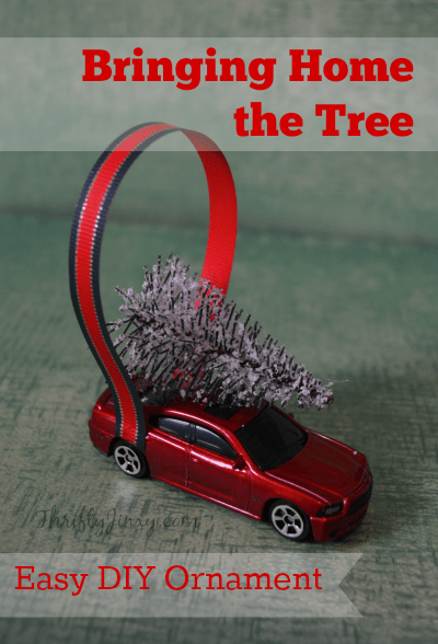 Bringing-Home-the-Tree-Car-Christmas-Ornament-DIY-Craft-
