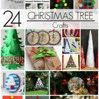 24 Christmas Tree Crafts