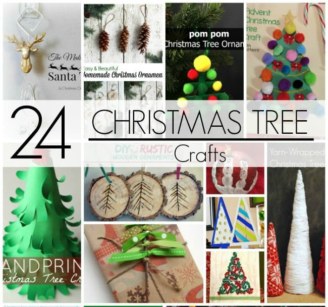 Christmas Tree Crafts square