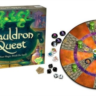 Play Cauldron Quest at your next family game night! #31DaysOfGifts #giveaway