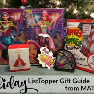 Are you looking for the hottest toy? The Mattel #ListToppers Holiday Gift Guide Can Help! #PlayAdvocate #giveaway {CAN}