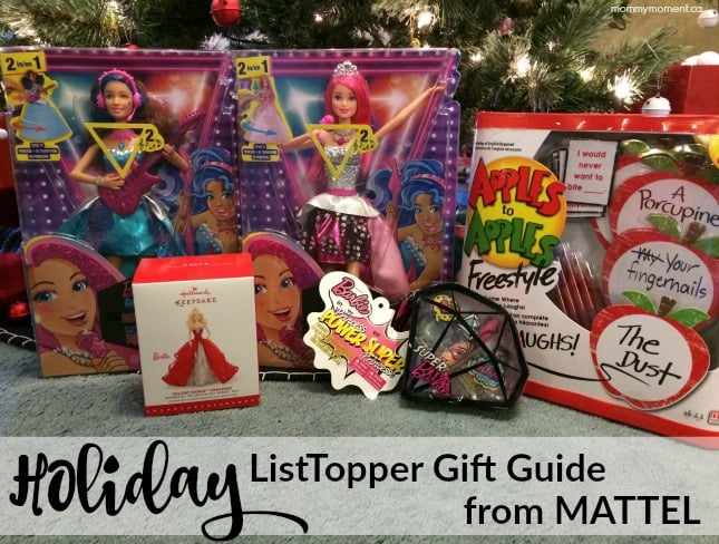 Holiday ListTopper Gift Guide from Mattel