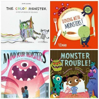 Give the Gift of Reading with a Monster book Prize Pack! #31DaysOfGifts #giveaway