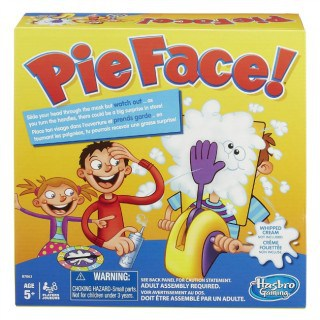 Throw a Pie in your Family's Face with this Fun Pie Face Game #31DaysOfGifts #giveaway {CAN}
