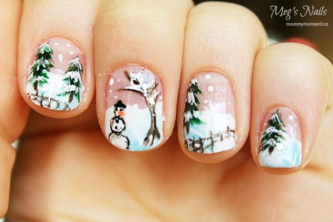 Winter Nail Art Design 2