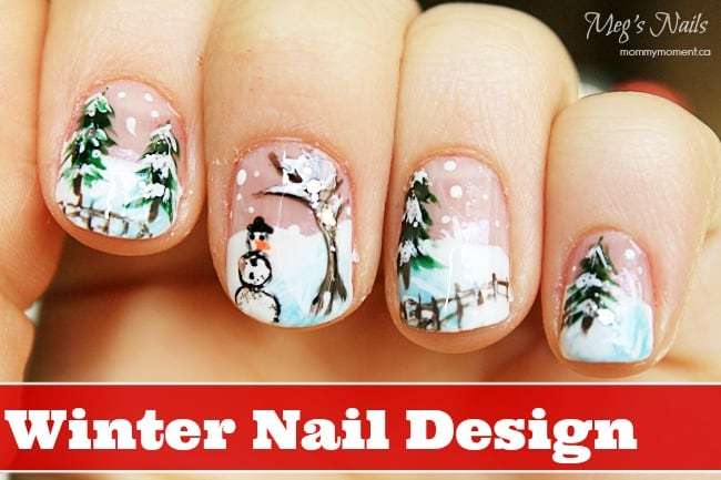 Winter Nail Design 2