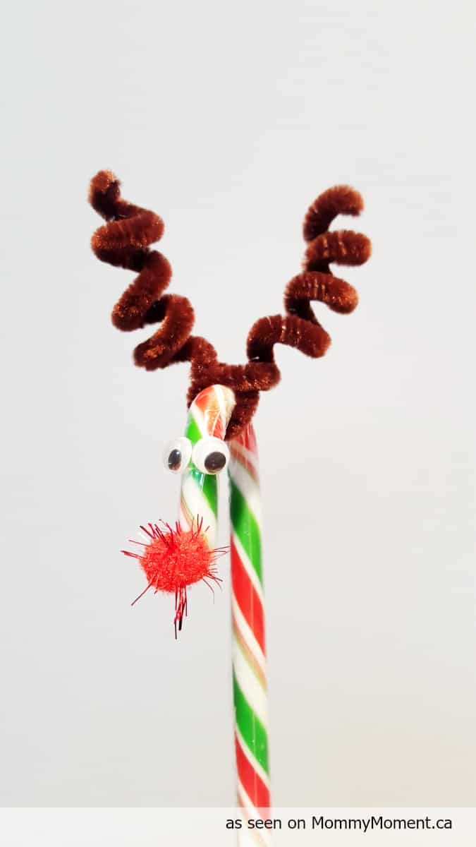 Candy Cane Christmas Tree Crafts