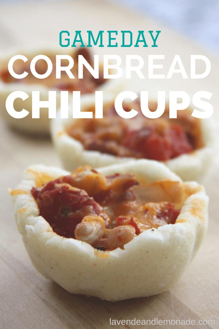 Chili And Cornbread Cups Recipe — Dishmaps