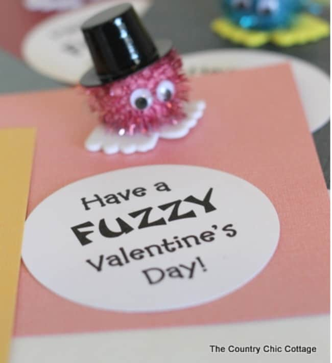 have a fuzzy valentines day