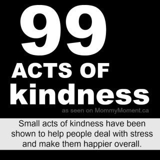 99 acts of kindness