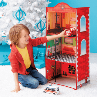 Hot-Toy Alert! Pop-Up Fire House from AVON #31DaysOfGifts #giveaway {CAN}