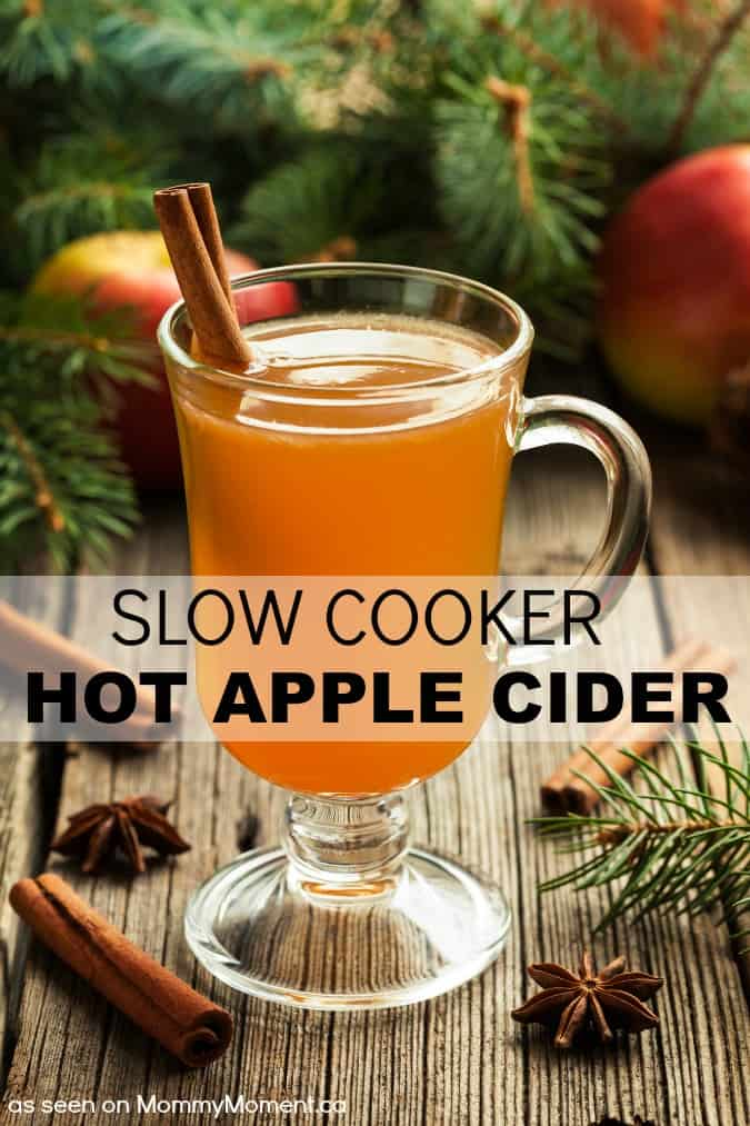 Slow Cooker Hot Apple Cider