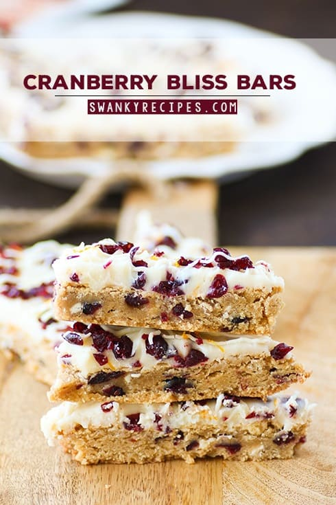 36 Cranberry Bliss Bars
