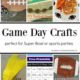 Game Day Crafts