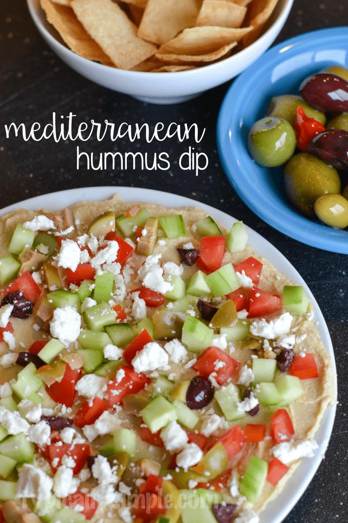 Mediterranean Hummus Dip