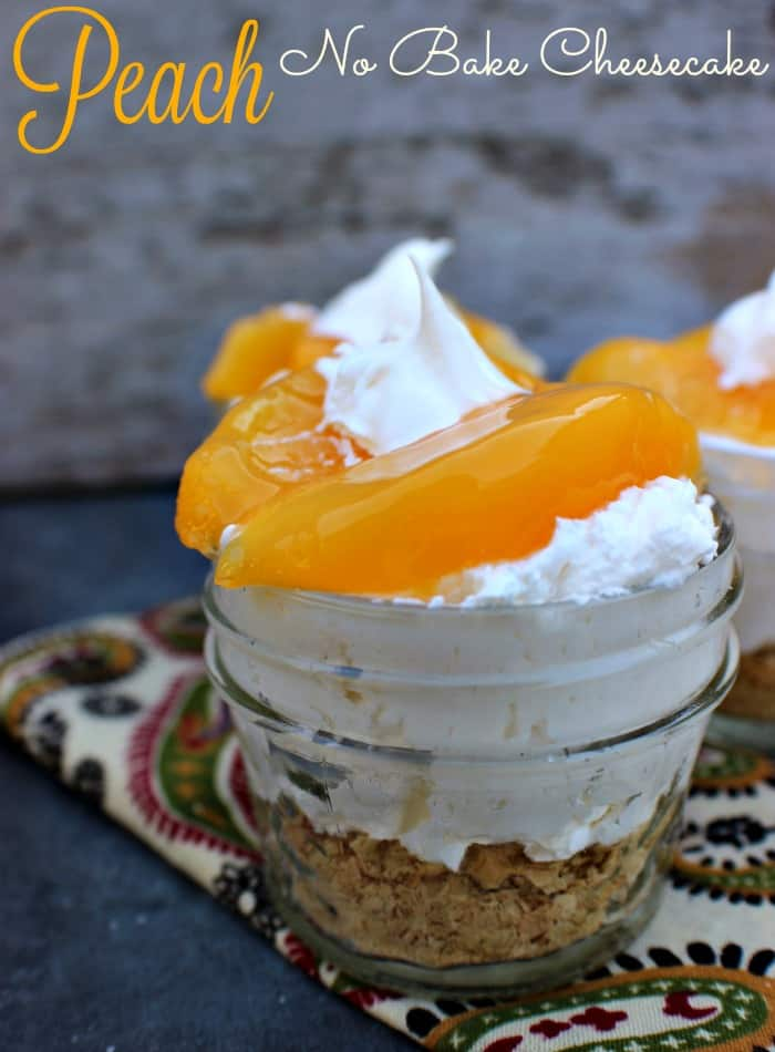 Peach-No-Bake-Cheesecake
