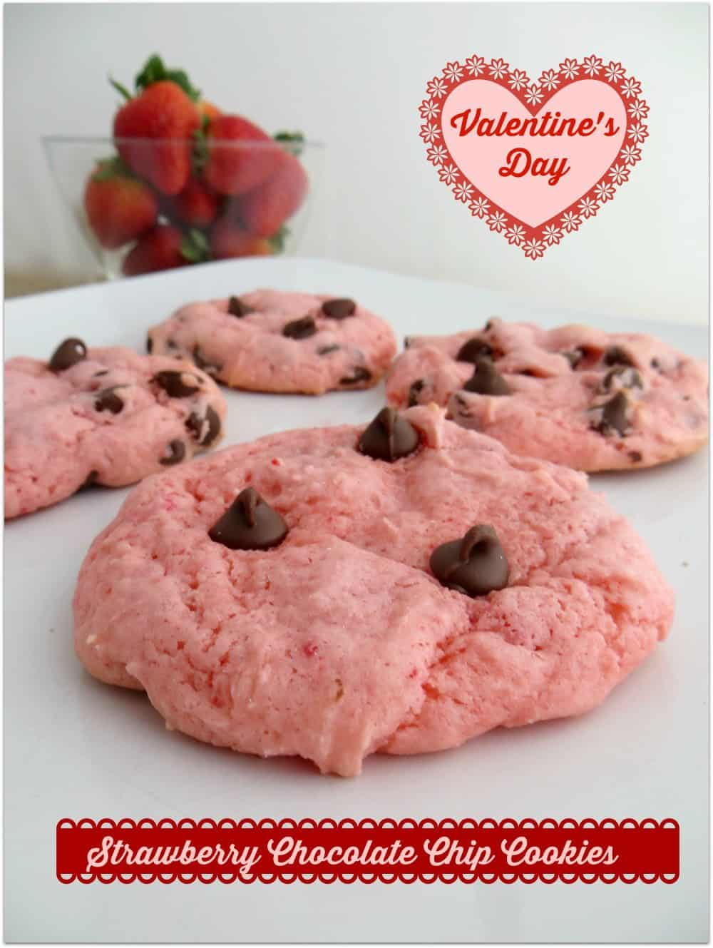 Strawberry-Chocolate-Chip-Cookies