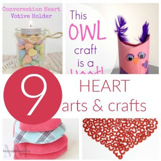 9 HEART ARTS AND CRAFTS IDEAS