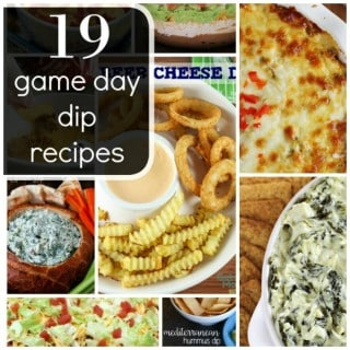 19 DELICIOUS GAME DAY DIP RECIPES
