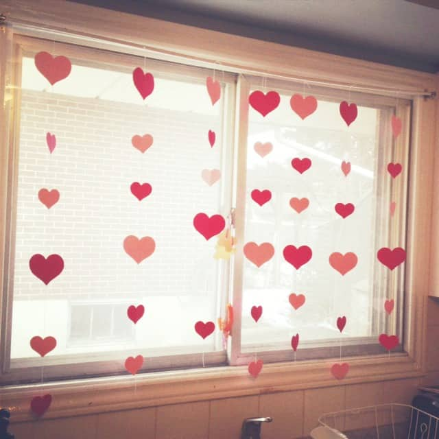 heart curtain 1