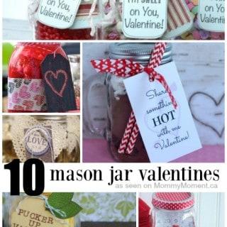 10 MASON JAR GIFT IDEAS FOR VALENTINES DAY