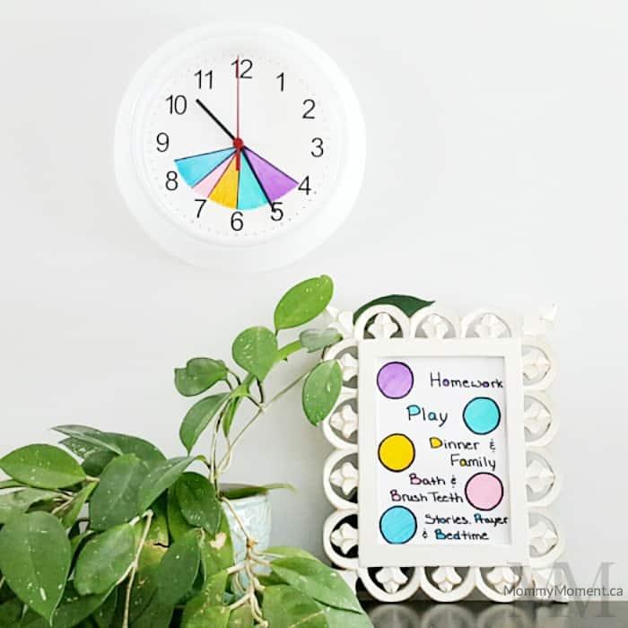 routine clock square