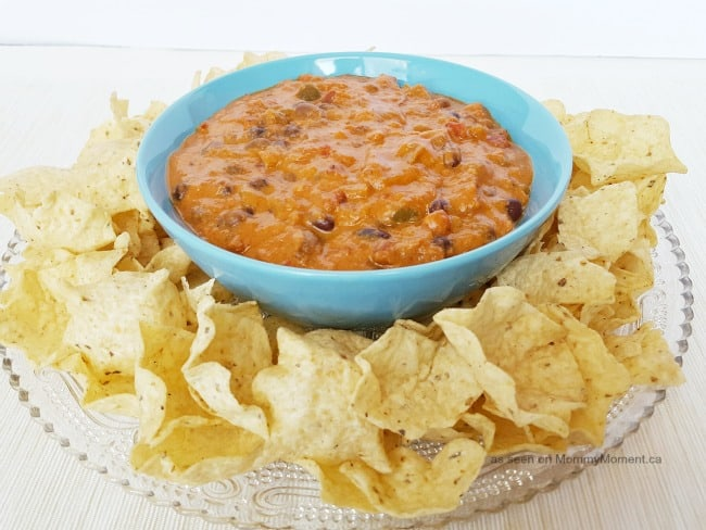 crock pot sausage and bean dip