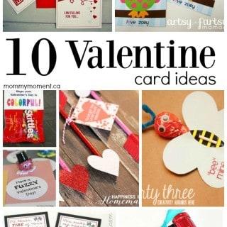 10 Fun & Creative Homemade Valentine Card Ideas