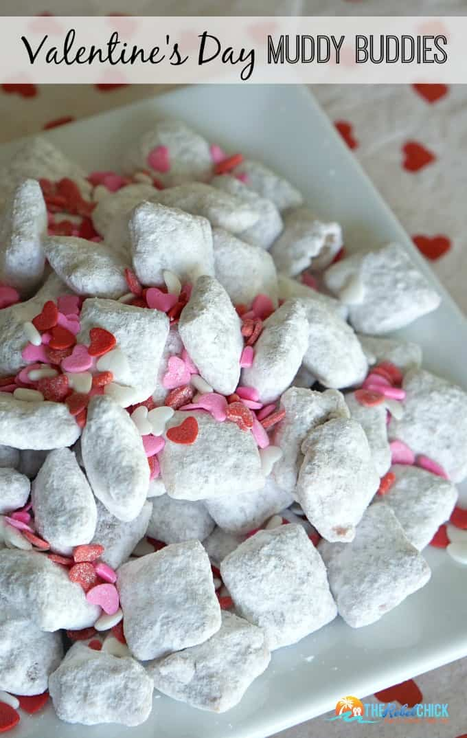 valentines muddy buddies recipe