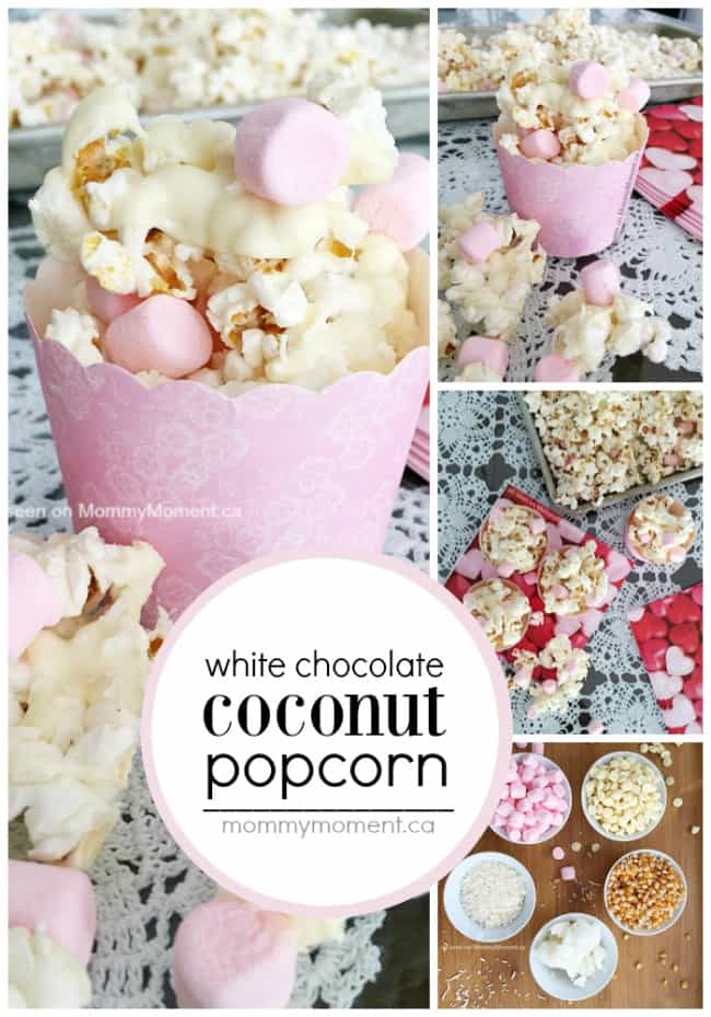 white-chocolate-coconut-popcorn-collage