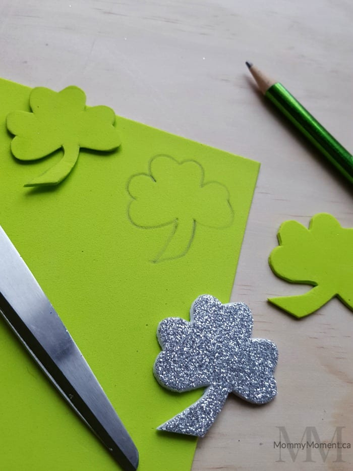 shamrock pencil toppers