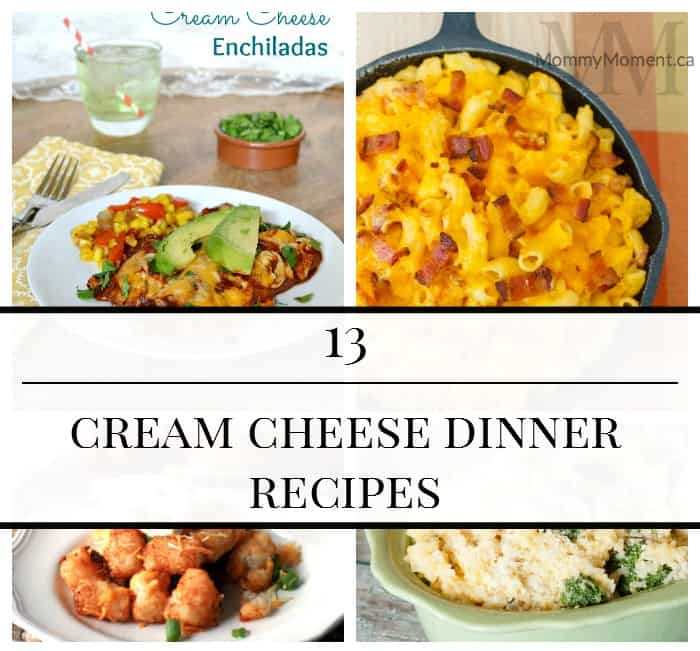 Cream Cheese Dinner Recipes square