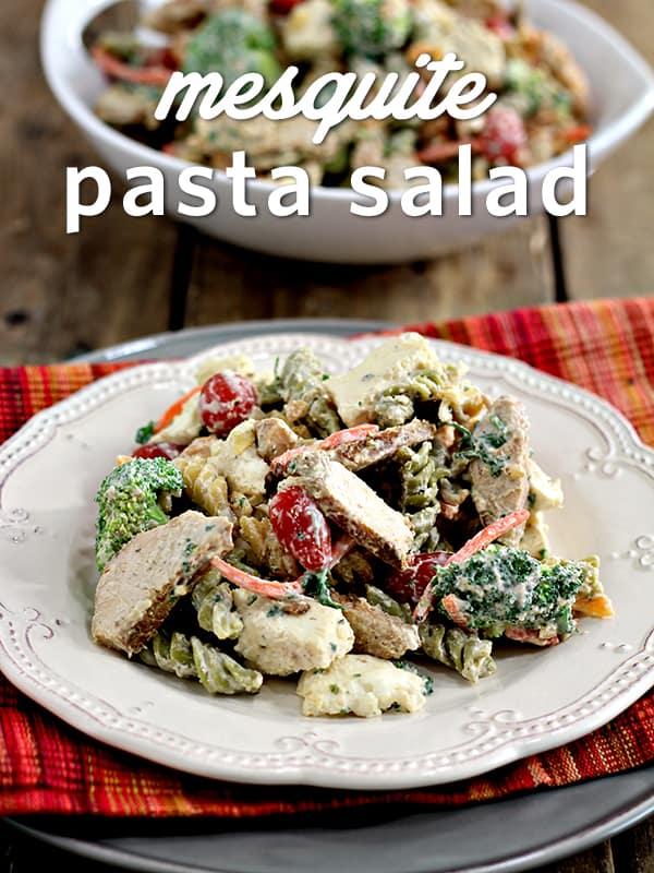 Mesquite-Chicken-Pasta-Salad