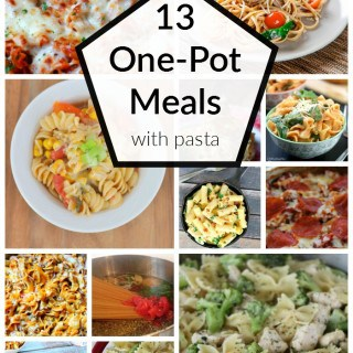 13 ONE POT MEALS WITH PASTA