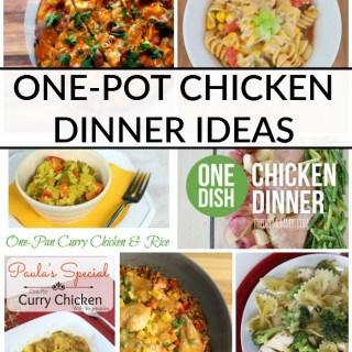 ONE POT CHICKEN DINNER IDEAS