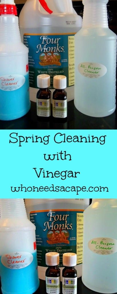 SPRING CLEANING WITH VINEGAR