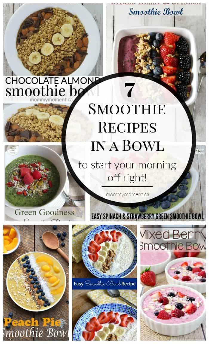 Smoothie Bowl Recipes