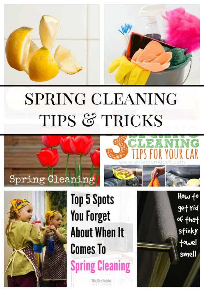 Spring is just around the corner so it is time to bring the freshness of spring into our homes and vehicles. These Spring cleaning tips and tricks are sure to help!