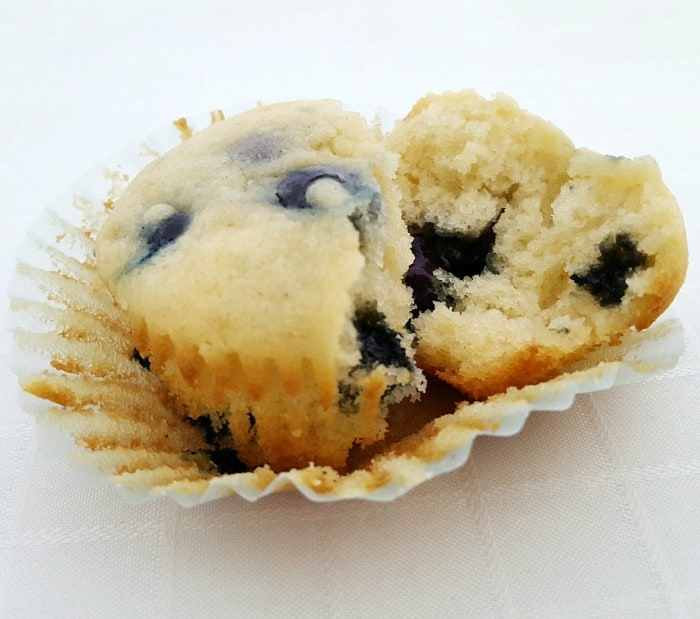 These best ever homemade blueberry muffins are made from scratch. A deliciously moist muffin recipe your family will love.
