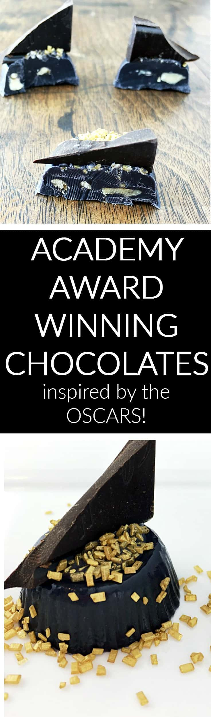 chocolates inspired by the oscars