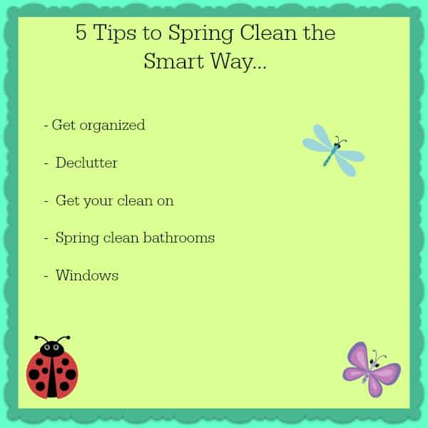 spring clean the smart way