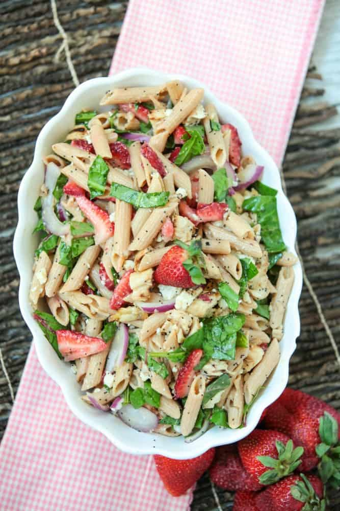 strawberry-poppyseed-pasta-salad-chicken