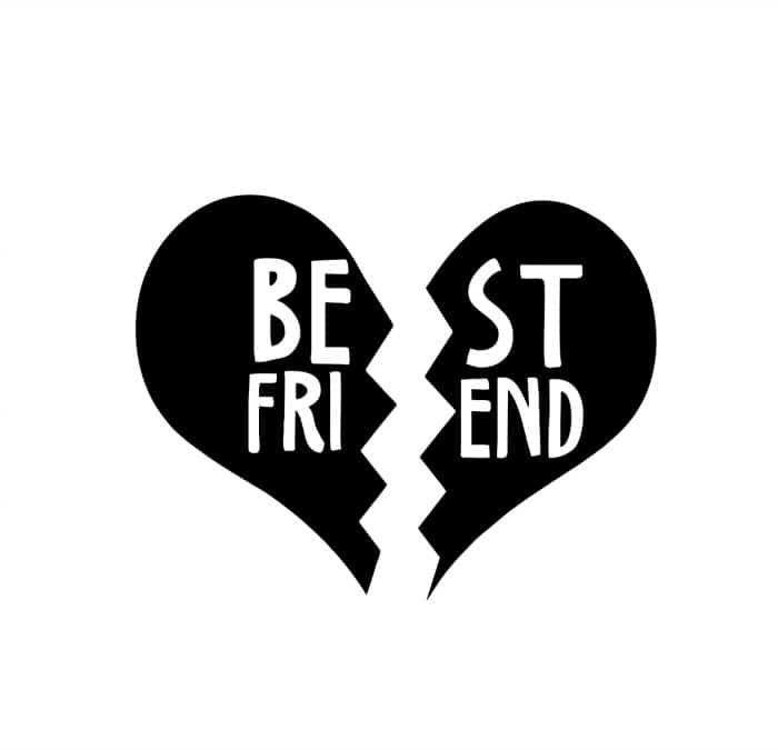best friend heart - photo #1